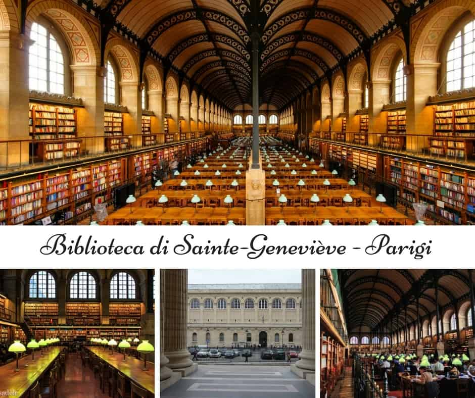 Biblioteca di Sainte-Geneviève a Parigi