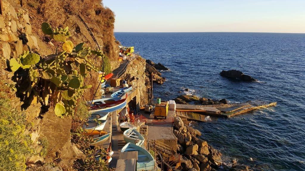 The Cinque Terre - Marina in Corniglia