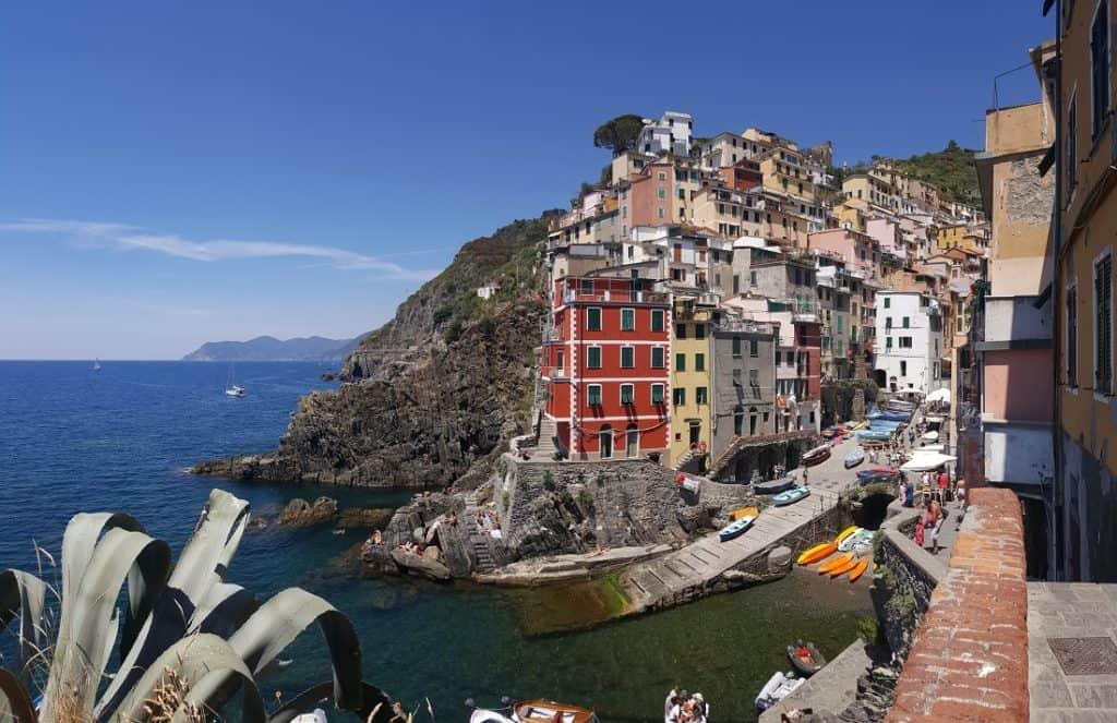 The Cinque Terre - Riomaggiore