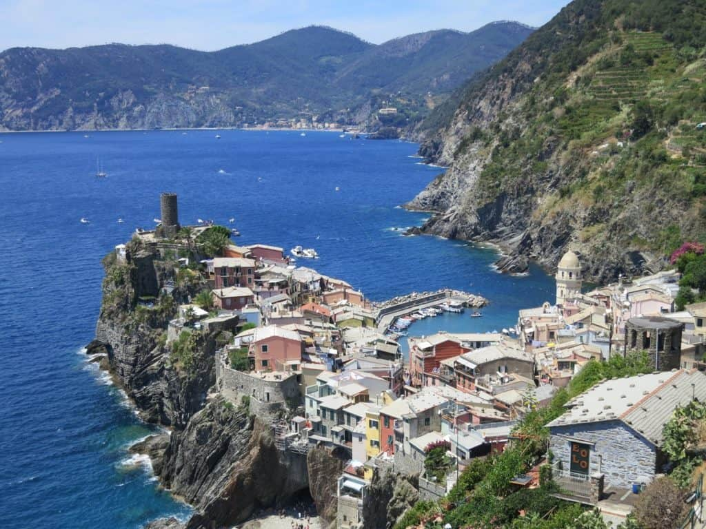 The Cinque Terre - Vernazza