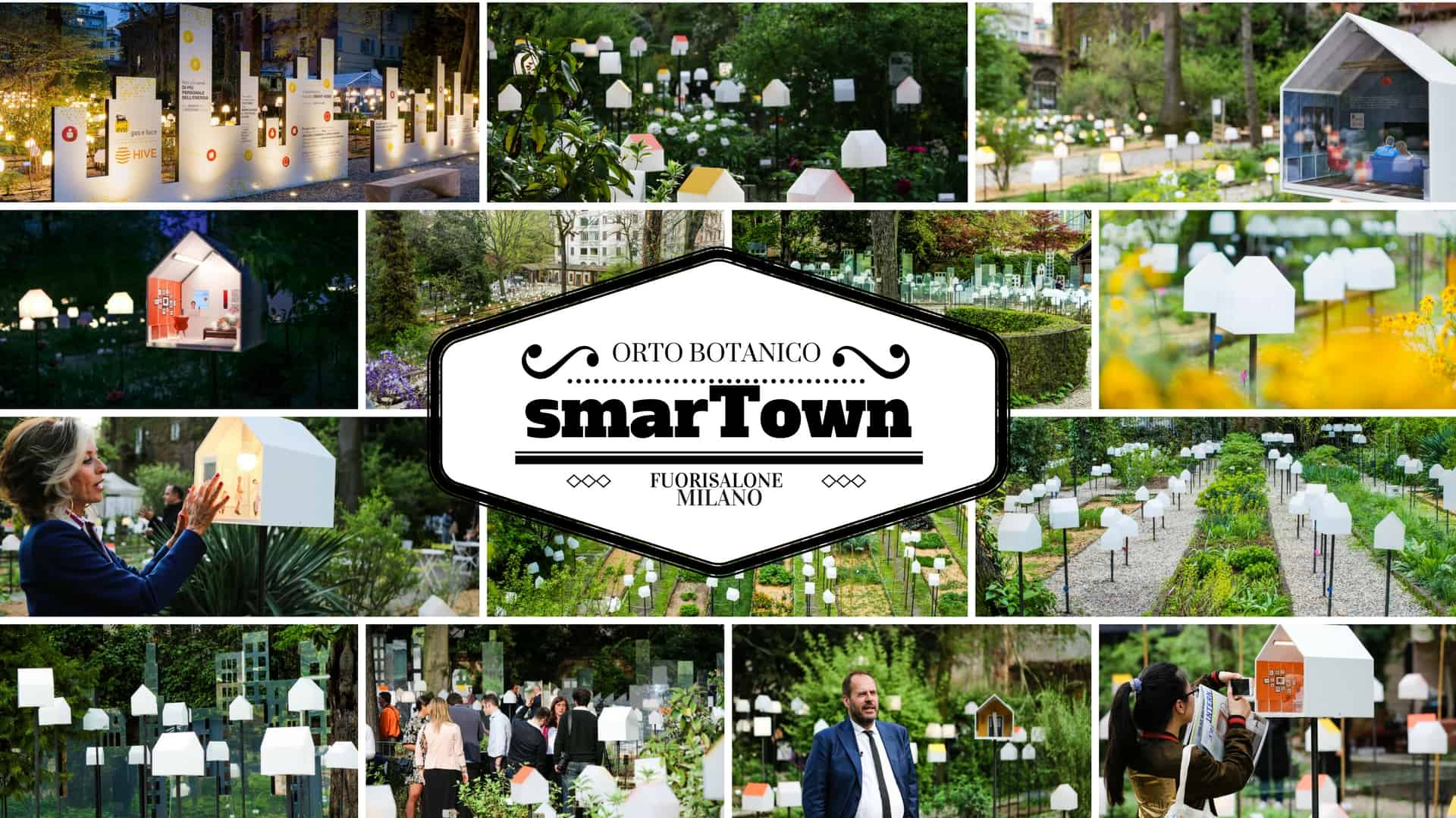 Smartown all orto botanico di brera per il fuorisalone di milano