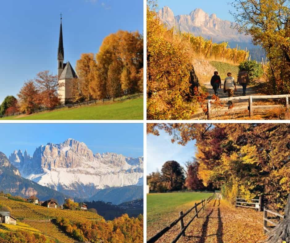 Autunno sull'altopiano del Renon in Alto Adige