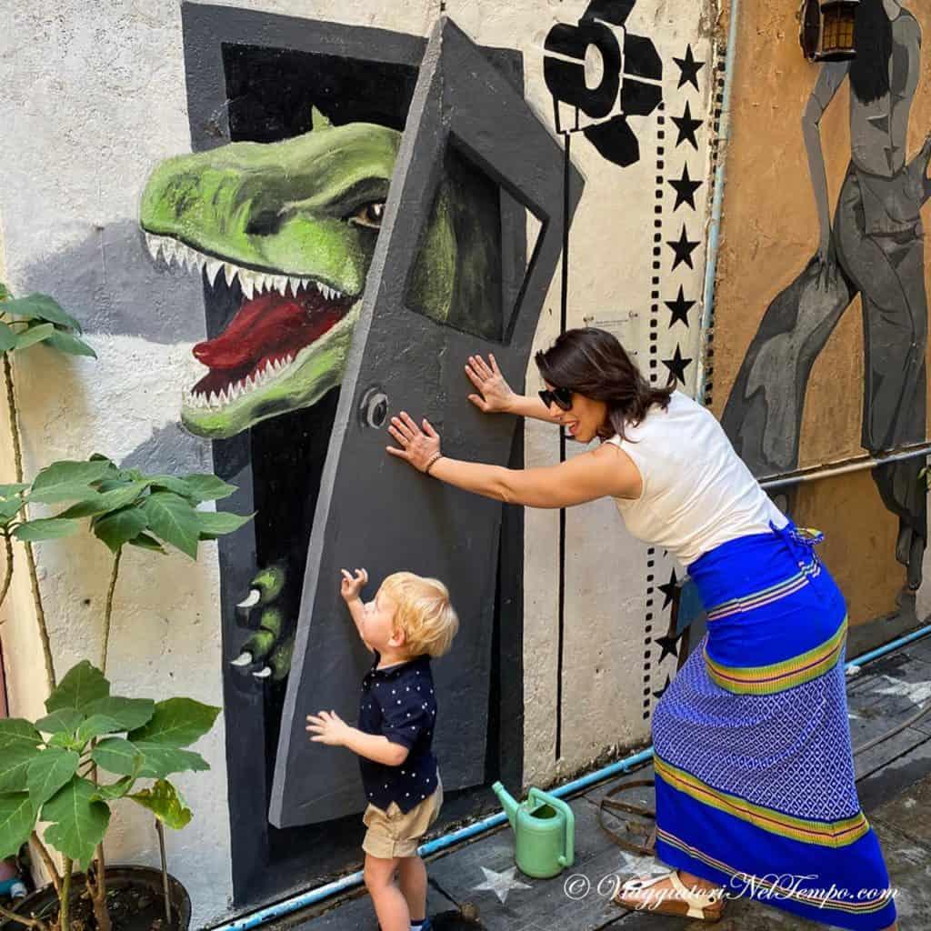 Yangon Street Art - WAZYIA CINEMA STREET