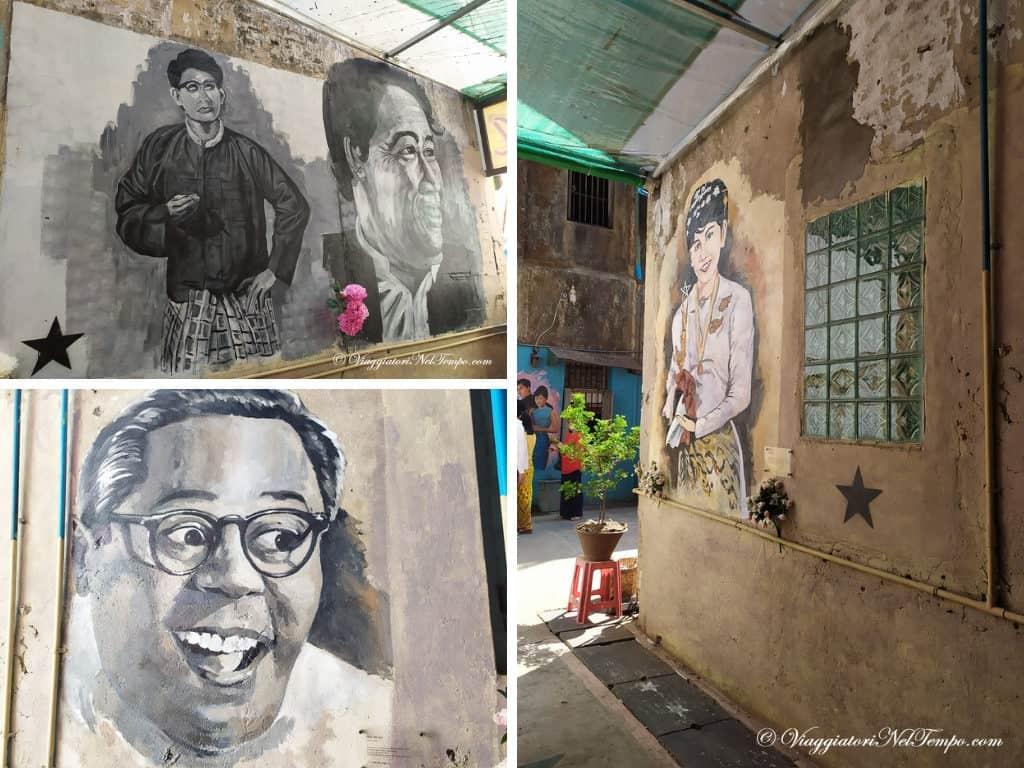 yangon street art