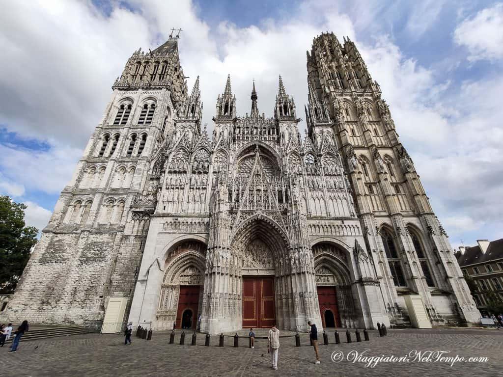 itinerario in Normandia in auto - la cattedrale di Rouen