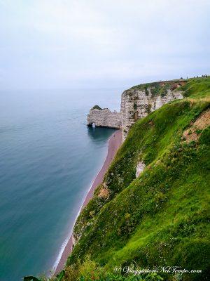 itinerario in Normandia in auto - le falesie di Etretat
