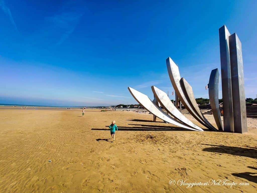 itinerario in Normandia in auto - Omaha beach