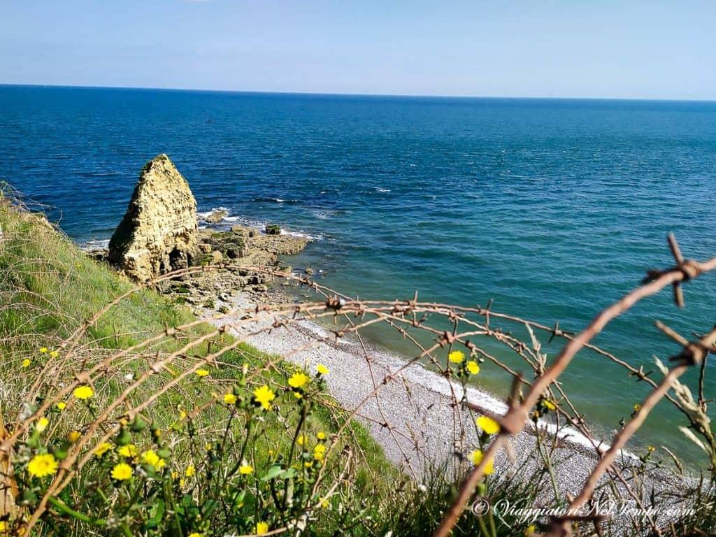 itinerario in Normandia in auto - Pointe du Hoc