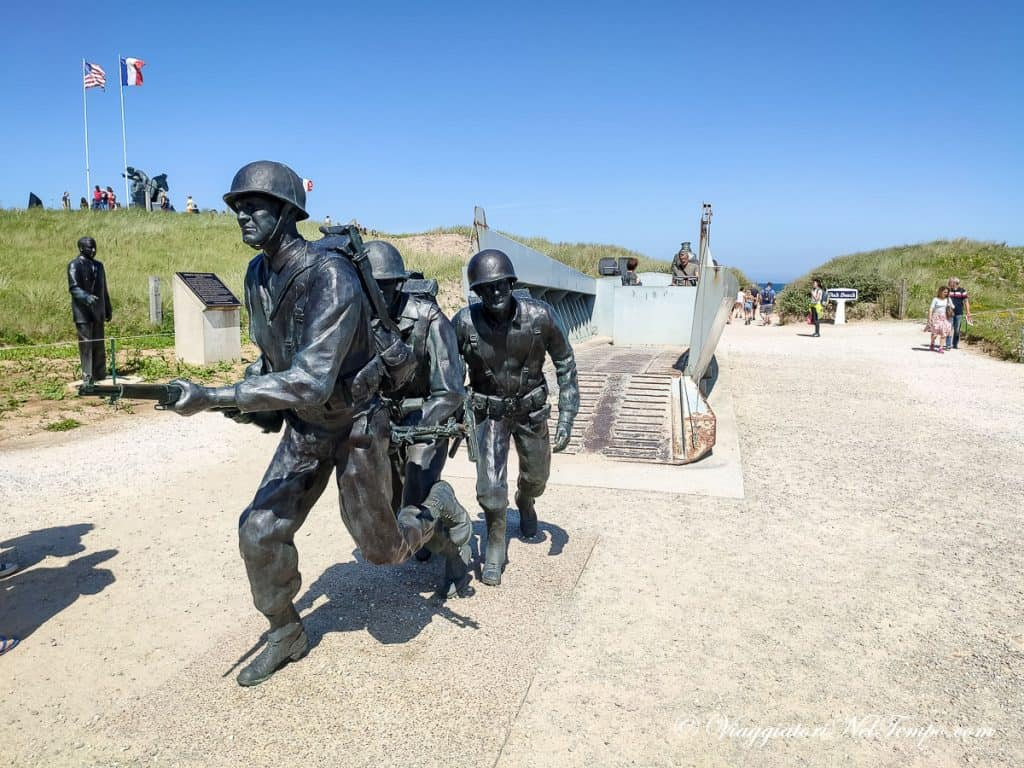 itinerario in Normandia in auto - Utah beach