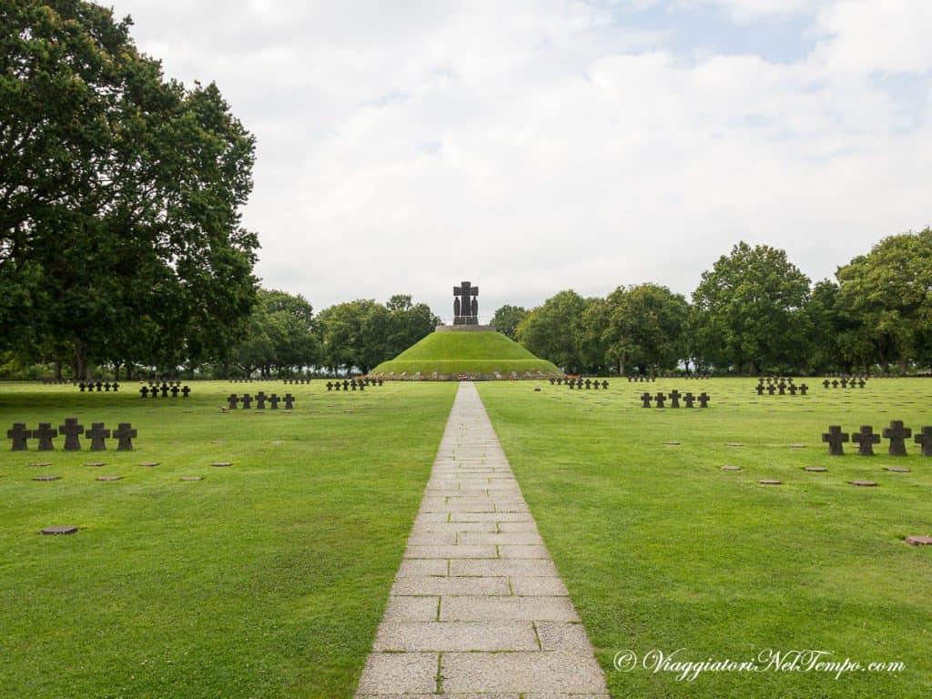 itinerario in Normandia in auto - Cimitero tedesco