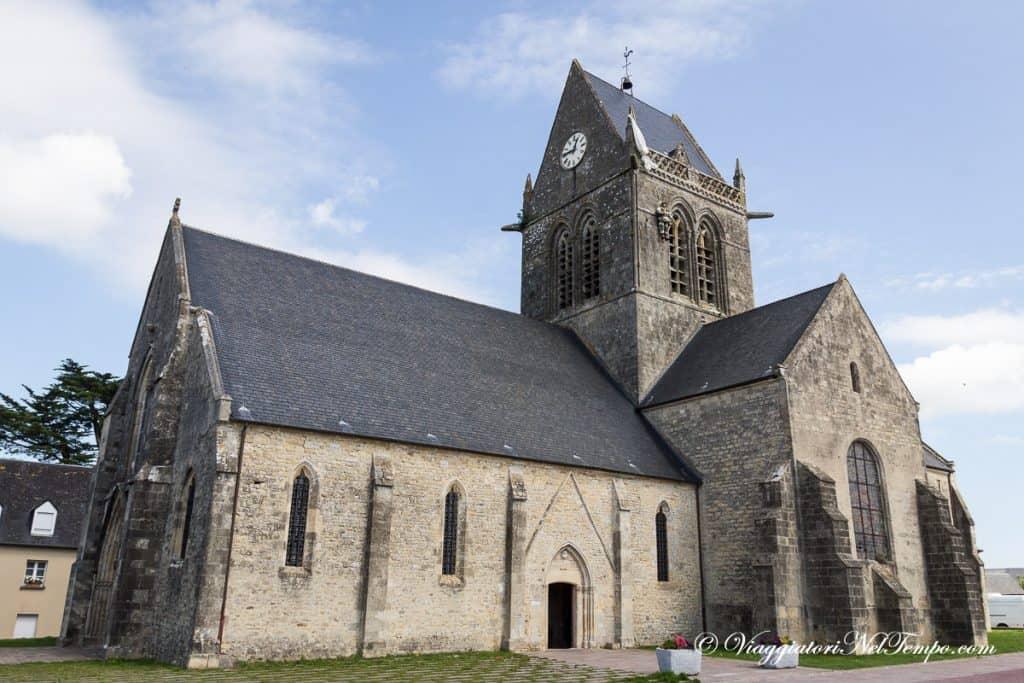 itinerario in Normandia in auto - Sainte-Mère-Église