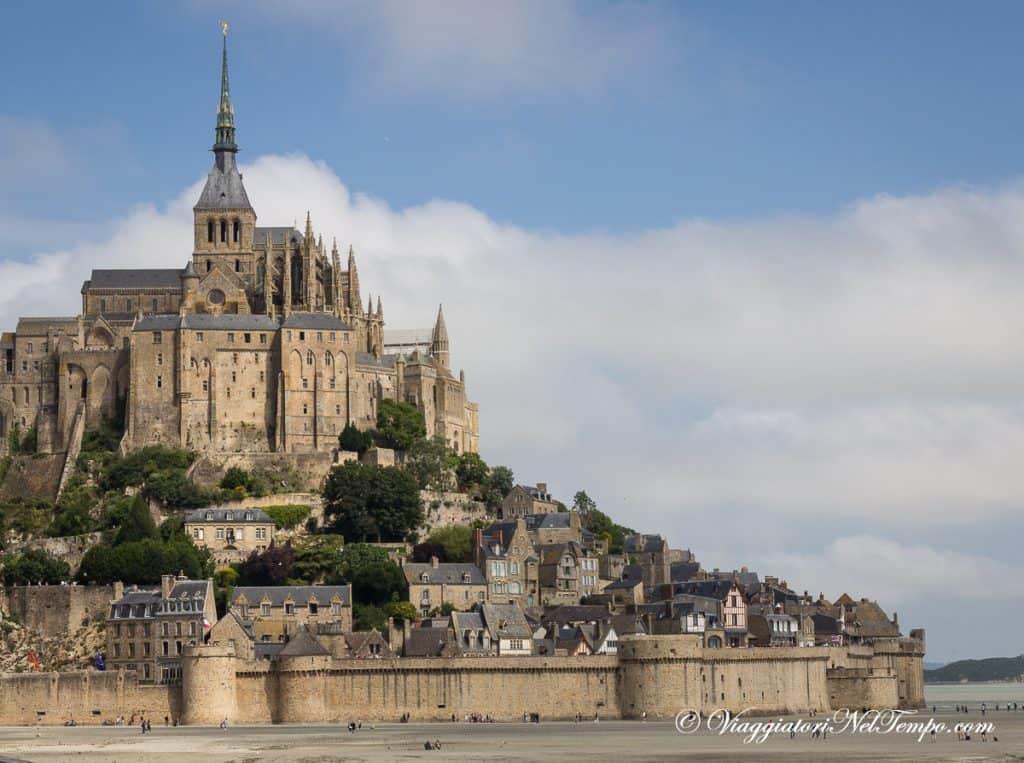 itinerario in Normandia in auto -Mont Saint Michel